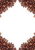 hnědá pražená kávová zrna