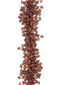 Fotografie braun gerösteten Kaffeebohnen