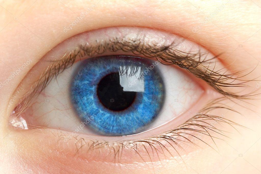 Human eye. macro shooting... — Stock Photo © cookelma #1193350