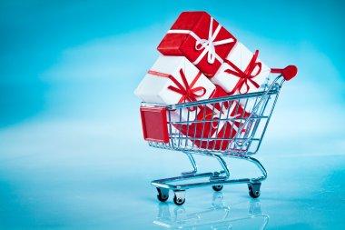 Shopping cart ahd gift