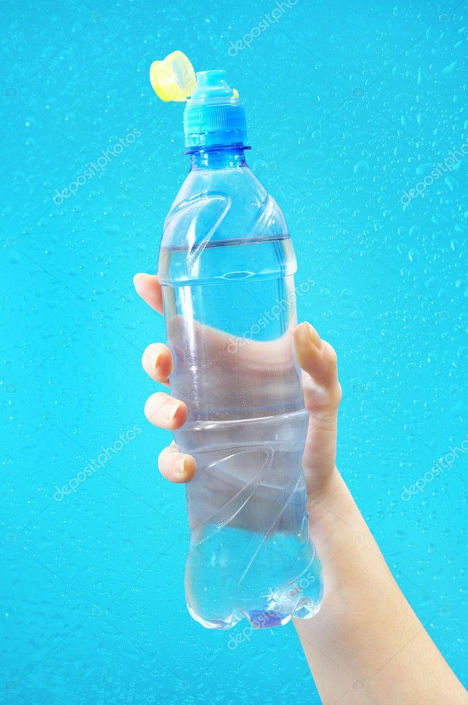 бутылка с водой — Стоковое фото © cookelma #1324387