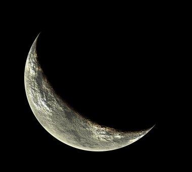 Phased moon