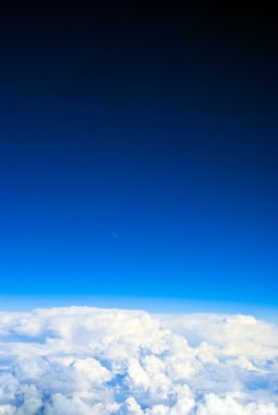 Sky view background