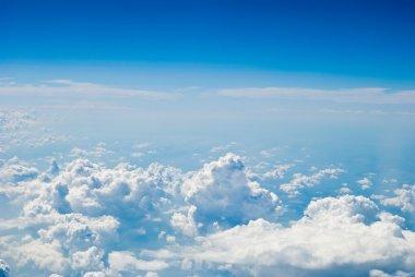 Air sky view