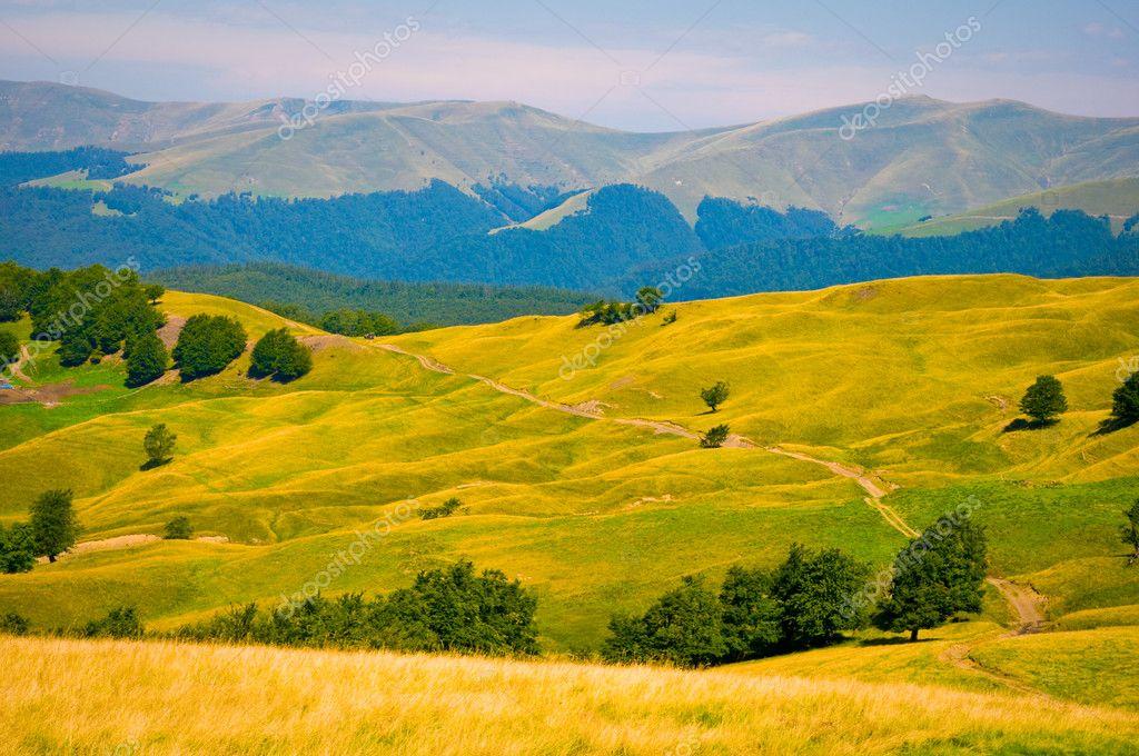 Ukraine Carpathian Mountain