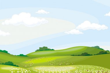 Landscape stock vector