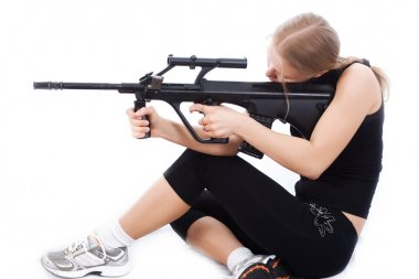 Girl with a weapon 3