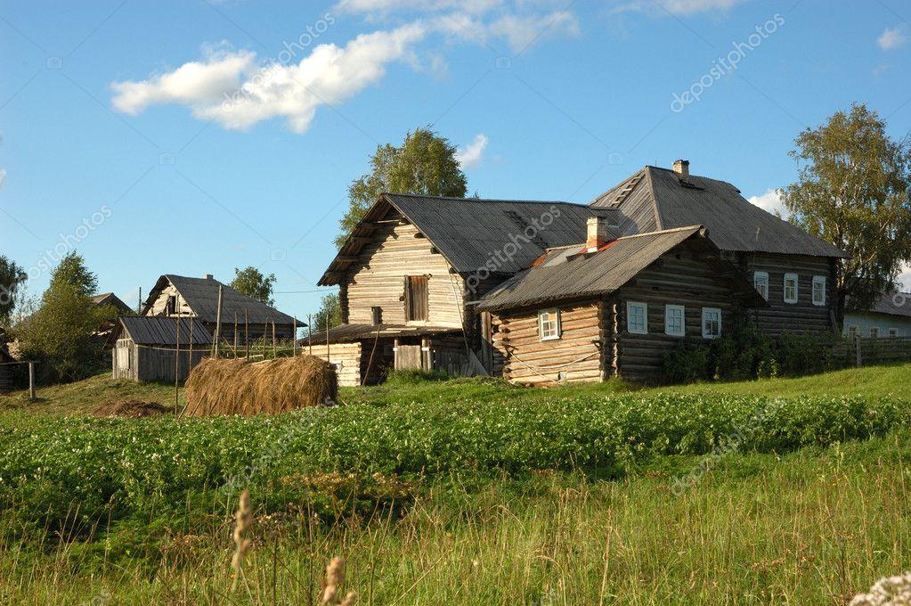 Northern russian village