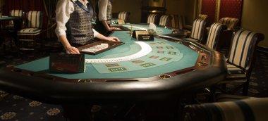 Modern casino interior
