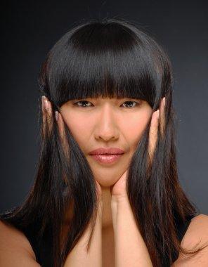 Beauty shot of a beautiful elegant Asian