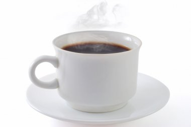 Coffee cup isolated with clipping path