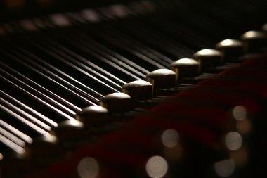 Inwardly grand piano