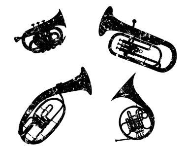 Brass wind musical instruments
