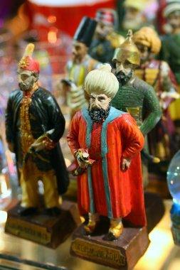 Souvenir porcelain figurines