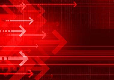Bckgrnd arrows red
