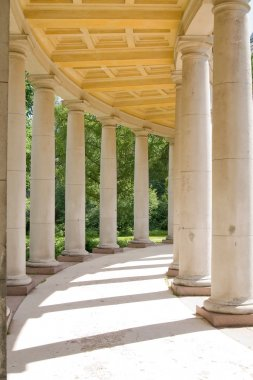 Classical colonnade
