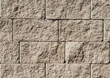 Close up image of stone wall