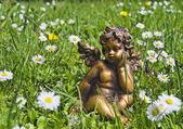 Angel in grass