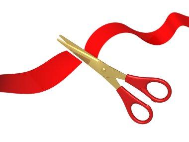 Tape and scissors