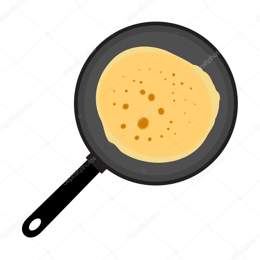 Pancake Stock Vector 169 Anoshkin 1257337