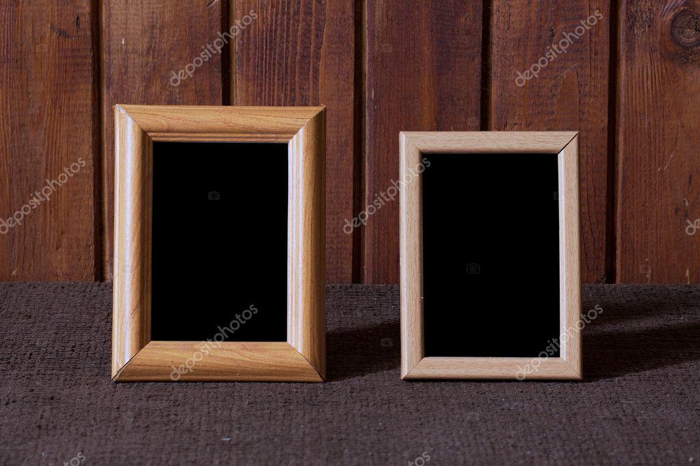 bilderrahmen auf alte tabelle — Stockfoto © avlntn #1826728
