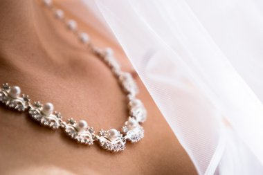 Beautiful bride necklace