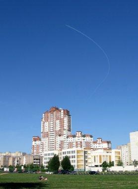 Sunny urban day