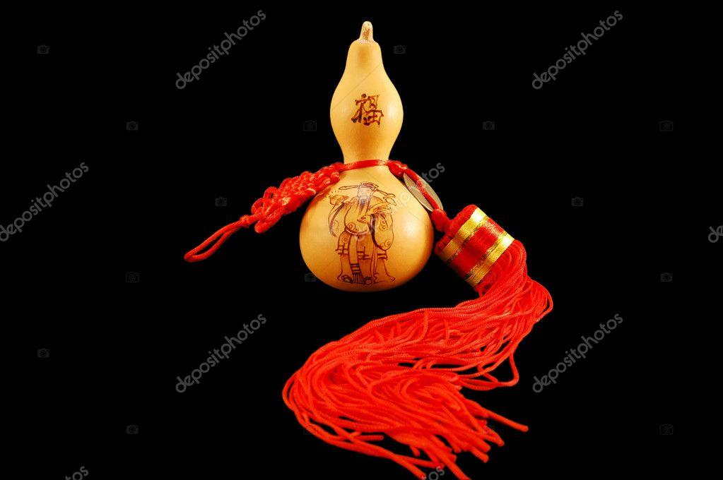 The Symbol Of Feng Shui Pumpkin Wu Lu Stock Photo Astral 2535161
