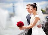 mladý pár svatba
