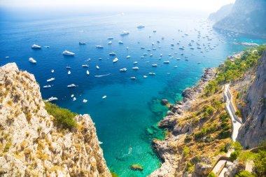 Italian Mediterranean sea coast
