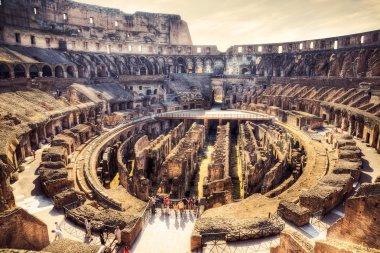 Inside Coliseum