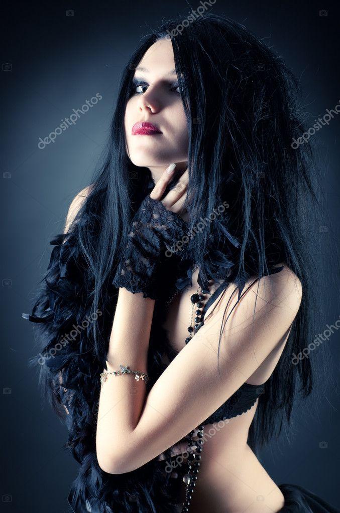 Girl hot goth 15 Female