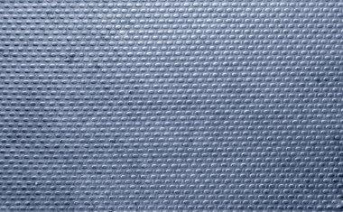 Ribbed metal texture with blue tint