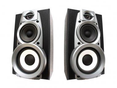 Two great loud speakers