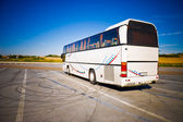 Turistický autobus široký úhel pohledu