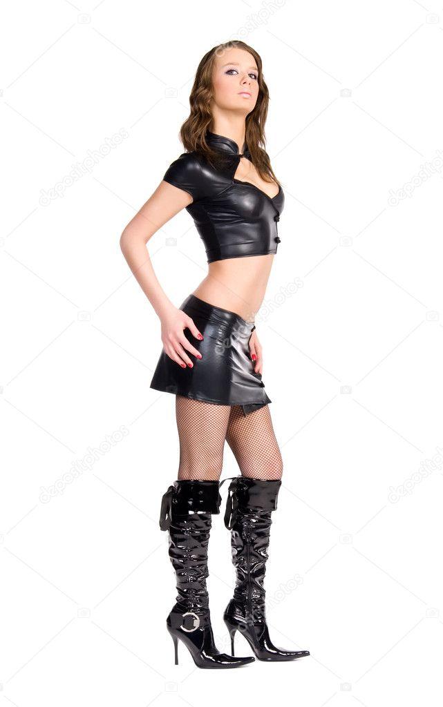 Кожаная сексуальная одежда фото 301-743