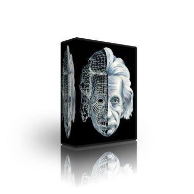 3d cyber einstein box template