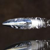 Fotografie fliegende Kugel mit track