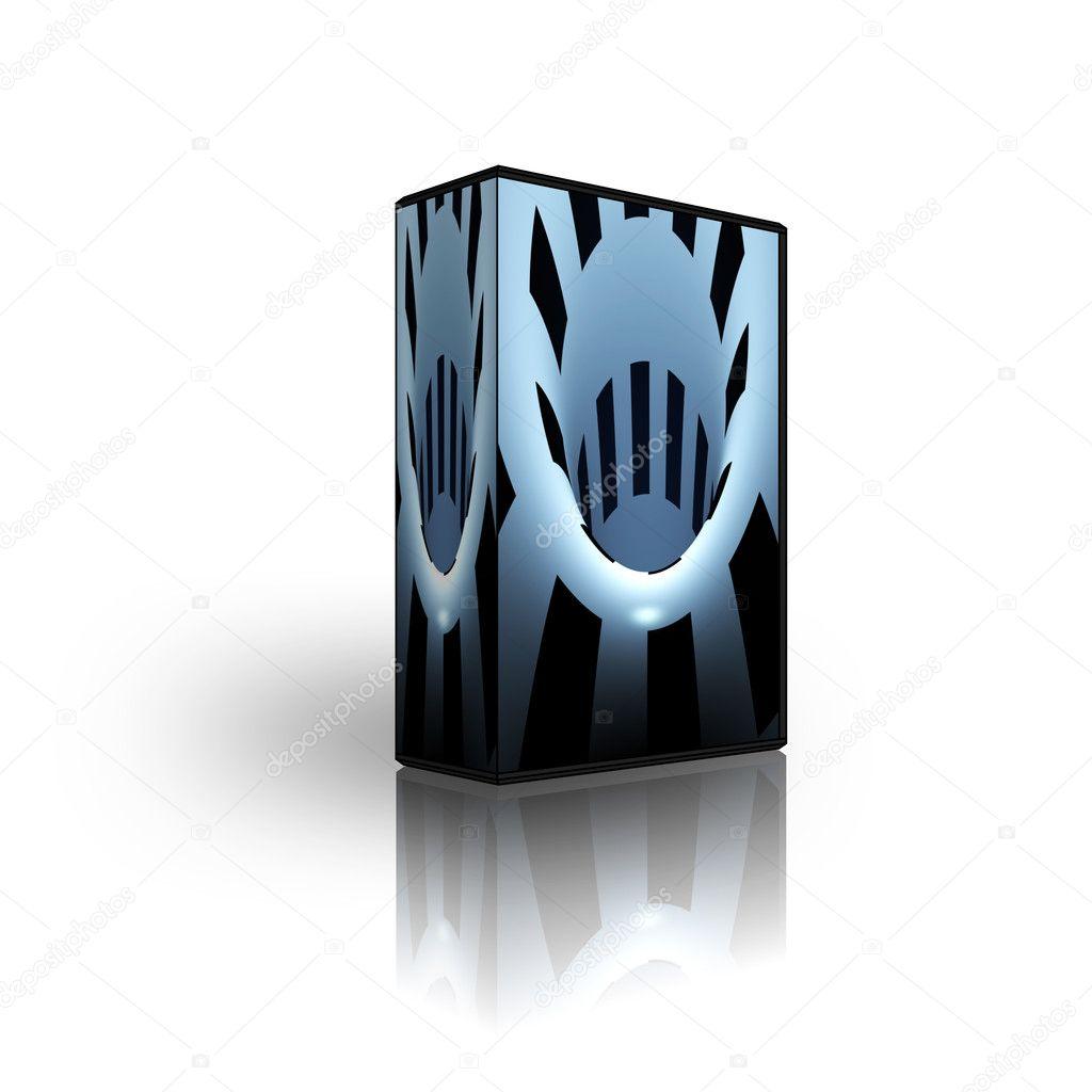 blank cd dvd box template stock photo alperium 1881791