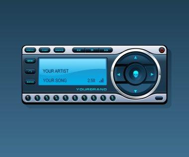 Media Player, Satellite Radio Receiver