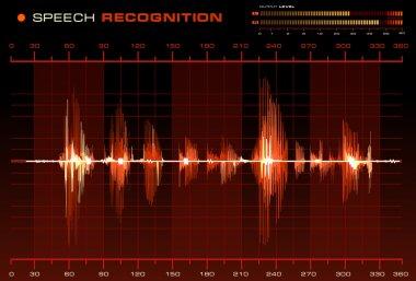 Speech recognition signal