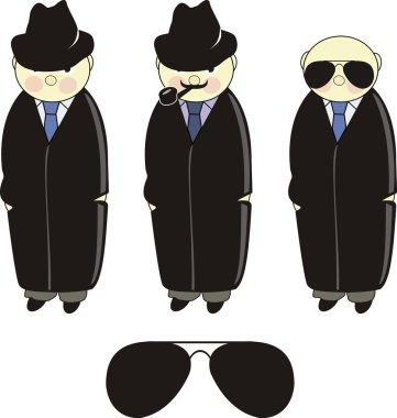 Inspector. Detective. Agent.