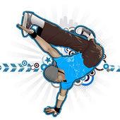 Fényképek Cool kép breakdancerről