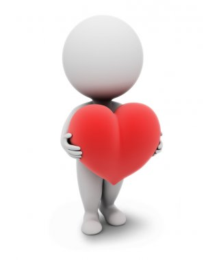 3d small -heart