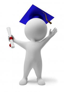 3d small - diploma