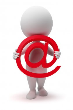 3d small - email