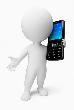 3d small - mobile phone