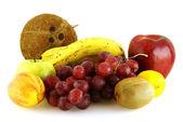 Various of fresh ripe fruits