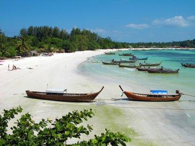 Beach on Lipe island, Thailand
