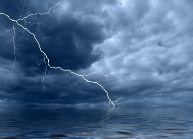 Ocean thunderstorm A